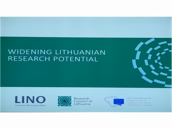 International conference Widening Lithuanian Research Potential