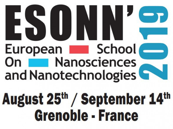 European School of Nanosciences and Nanotechnologies 2019