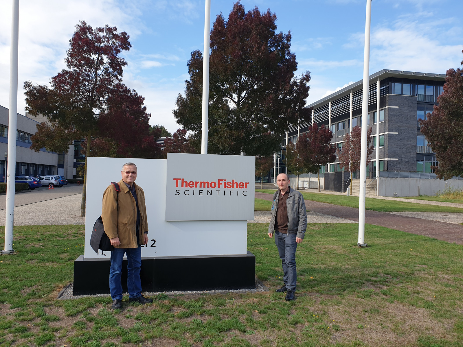Visit to Thermo Fisher Scientific center