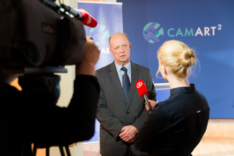 THE LAUNCH OF LATVIA'S BIGGEST SCIENCE PROJECT CAMART²